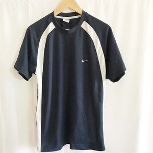 Nike Sportswear Blue and White Athletic Shirt sz L